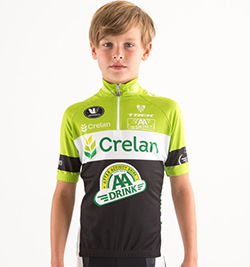 Children's jersey short-sleeve team jersey (no shorts)